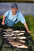 The pick of my Huntspill catch ten bream. © 2011 Brian Gay