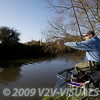 Swinging in a roach. River Kenn session 201109. © 2009 Brian Gay