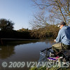 Hooking a roach. River Kenn session 201109. © 2009 Brian Gay