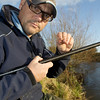 Double red maggot was my most effective hook bait. River Kenn session 201109. © 2009 Brian Gay