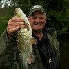"Chris Ponsford with a 3 lb chub from the River Tone in Taunton © 2014 Brian Gay  <a href=""http://www.v2v-visuals.co.uk"">http://www.v2v-visuals.co.uk</a>"