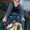 Brian Gay fishes Beat 2 on the Dorset Stour Throop Fishery.