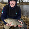 Steve Howard from Holt Dorset with a 5 lb 10 oz chub, Dorset Stour, Throop,