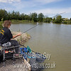 Misha Herring plays a carp on the pole at Trinity Waters, Woodland Lake, 280510. © 2010 Brian Gay
