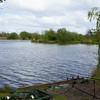 My swim on Wildmarsh Lake at Trinity Waters, Chilton Trinity, Bridgwater, Somerset.