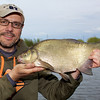 A near 4 lb bream on the method feeder