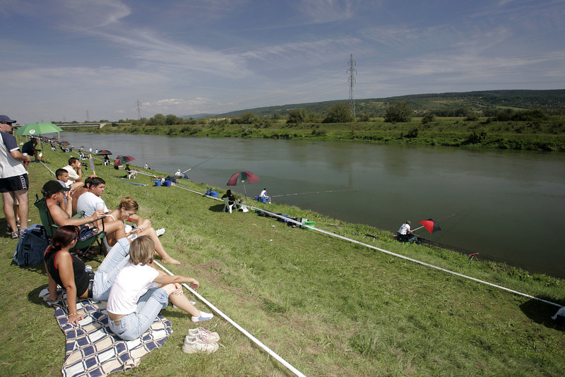 European Championships, Slovakia, River Vah, Madunice Canal, Slovakia.  © Brian Gay 2005
