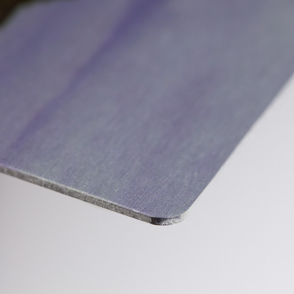 This is a 12x8 Alumini Print in a matt finish showing the edge and surface detail. © 2011 Brian Gay