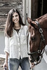 Amanda @ the barn 4-3