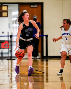 Morgan Klug brings up the ball for SCN