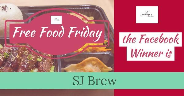 Facebook - Free Food Friday Winners