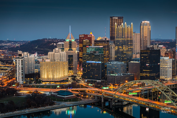 Pittsburgh Blue Hour