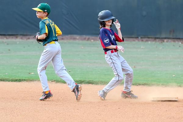 2019 Fall Roswell Baseball 10-8