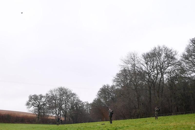 Upton Manor shoot Boxing Day 2019