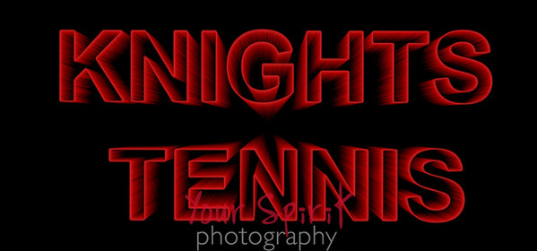 KNIGHTS TENNIS zoom text