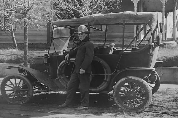 Luke Hurley in 1918