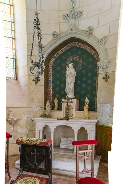 The Chapel in the Château Chissay, Loire Valley