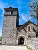 La Couvertoirade, Aveyron--Church of Saint Christophe