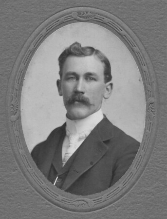 Jacob Dosman Harold Dosman's father. Photo taken on unknown date before Jacob was married.