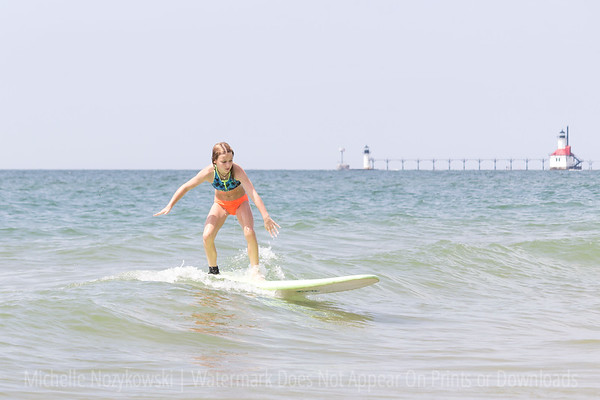 Lucy Surf Lesson