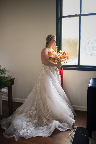 Citrus Winter Styled Wedding