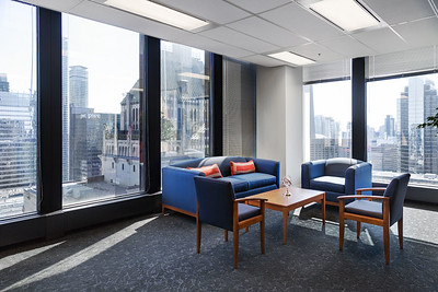 Corner office seating