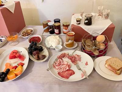 Breakfast at Casa Dei Grilli