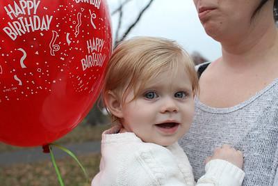 Norah Innamorato 1st birthday
