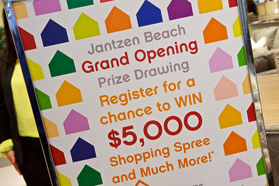 Ashley Furniture Grand Opening Jantzen Beach Portland-