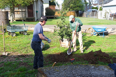 Planting Day at White Oaks Commons