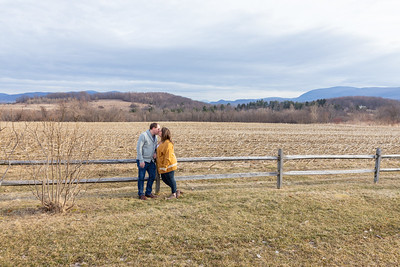 Engagement Photography Hubbell Homestead VT-2