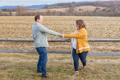 Engagement Photography Hubbell Homestead VT-4