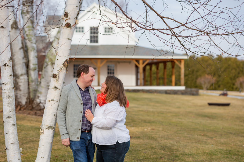 Engagement Photography Hubbell Homestead VT-14