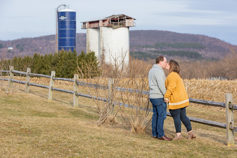 Engagement Photography Hubbell Homestead VT-5