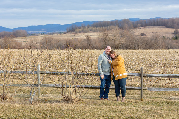 Engagement Photography Hubbell Homestead VT-1