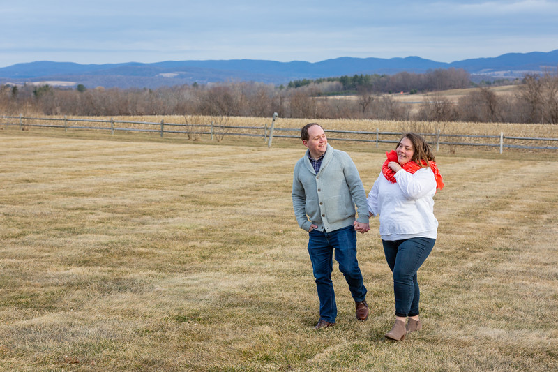Engagement Photography Hubbell Homestead VT-7