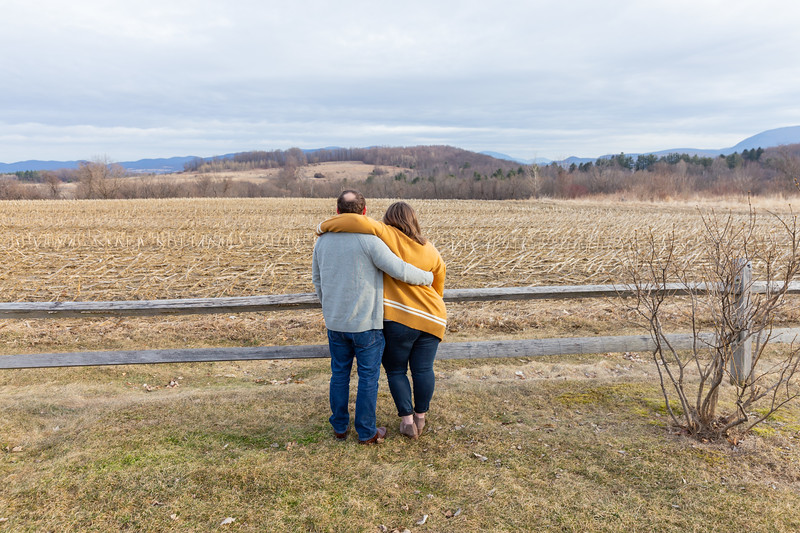 Engagement Photography Hubbell Homestead VT-6