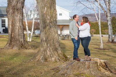 Engagement Photography Hubbell Homestead VT-18