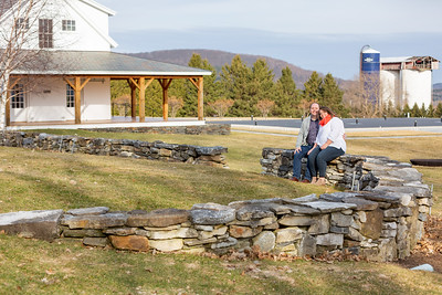 Engagement Photography Hubbell Homestead VT-22