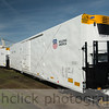 Union Pacific refrigerated railcar.