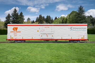 Cryo-Trans railcar #6158, Christensen