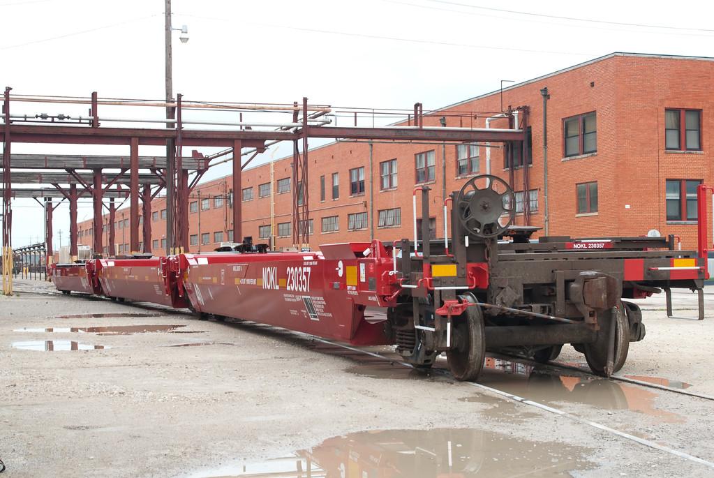 Guderson Rail Services - 40' Sample car