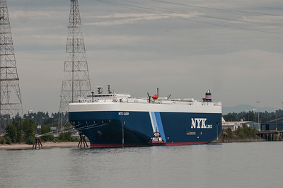 M/V Metis Leader departing Port of Vancouver