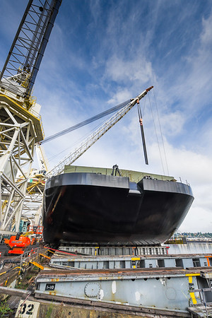 OSRB-1, five days before launch at Gunderson Marine