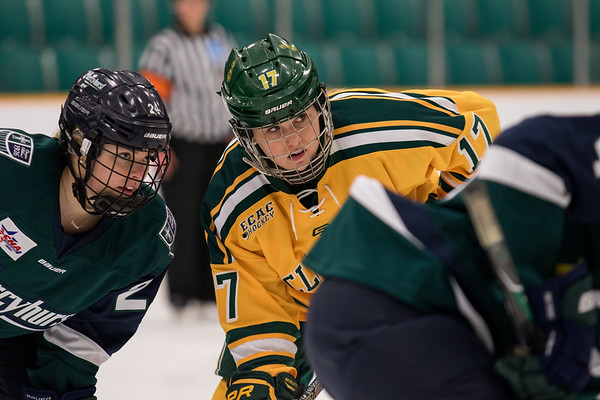 NCAA Women Hockey Quarter finals Clarkson vs. Mercyhurst. Clarkson win 2 to 1 in overtiime