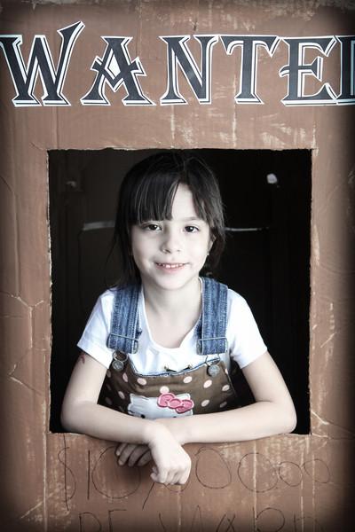 Bella's 5th Birthday - Wanted Photos
