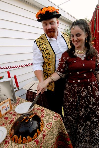 Nicole Rawlins, J.D. Williams wedding
