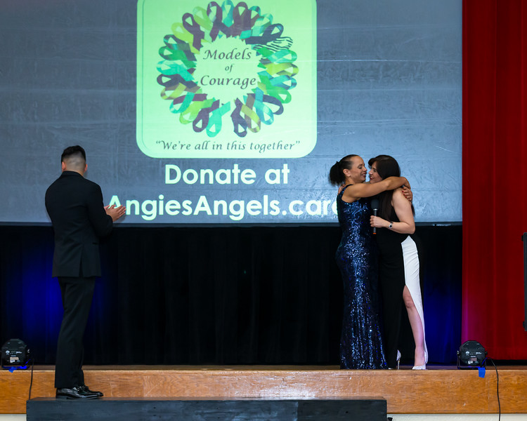 Angies Angels Models of Courage Fashion Show