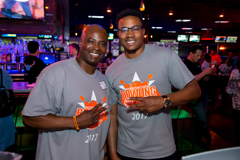 """Breaking Down Walls """"Bowling With The Pros"""" - Photo Credit: Ternell Washington"""
