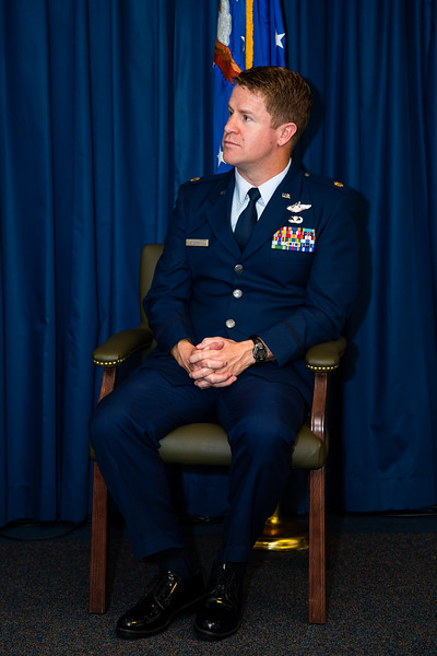 Major Mike Cane Anderson Fini and Retirement